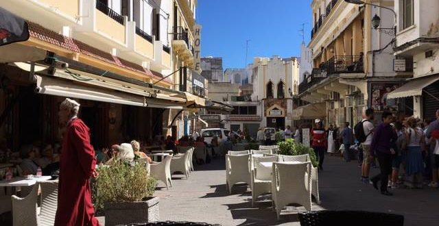 Petit Socco, der kleine Marktplatz in der Medina von Tangier, Tangier, 16.09.2016. © ICPS.