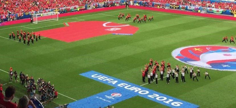 Eröffnungszeremonie im Matmut Atlantique (Stade de Bordeaux)